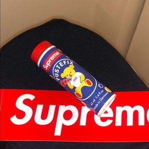 Limited edition supreme bubbles & logo sticker